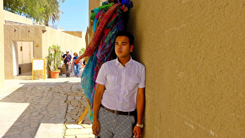 Lost in Bastakiya – Old Dubai !!