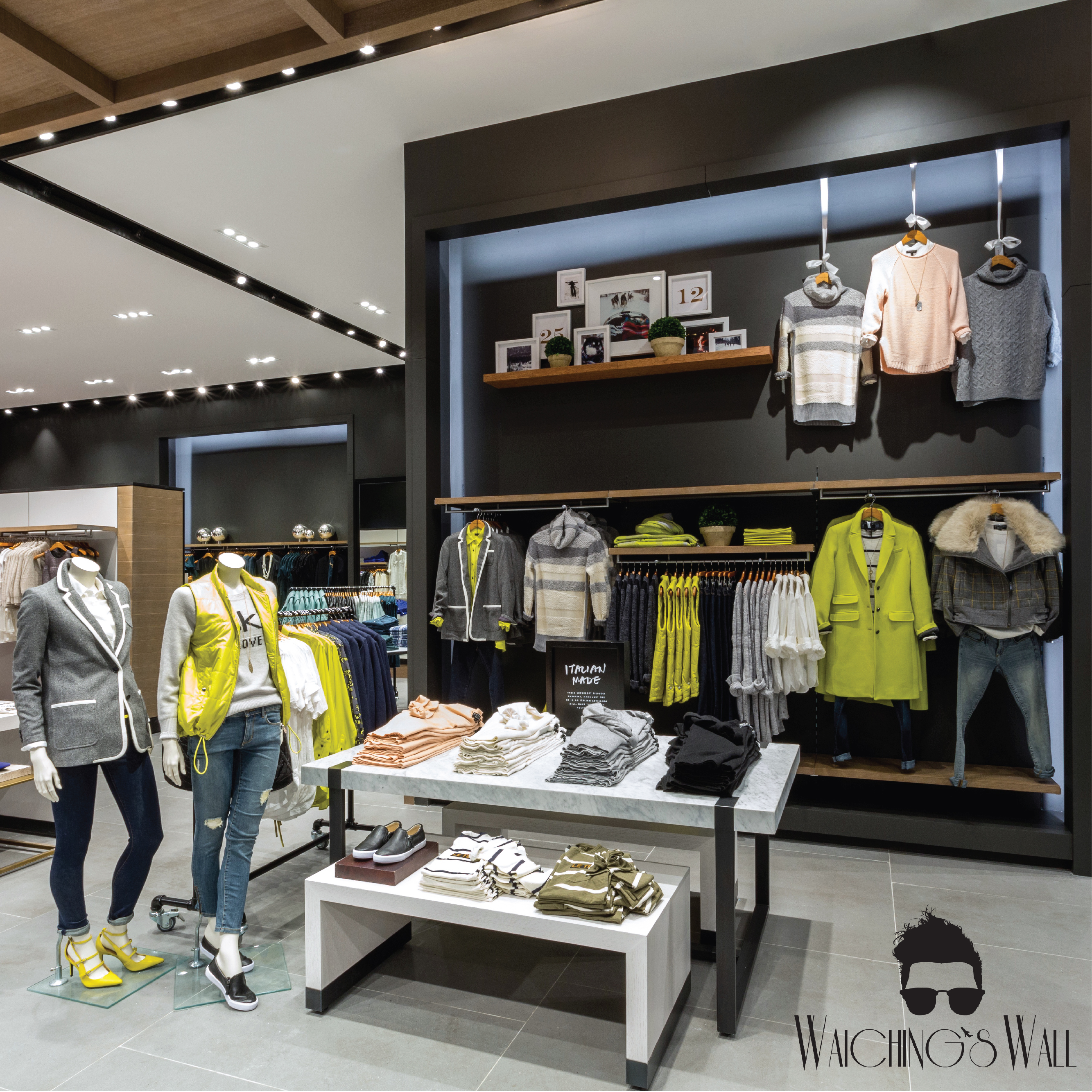 PRESS EVENT: BANANA REPUBLIC HOLIDAY'15 COLLECTION & REVAMPED DUBAI MALL STORE